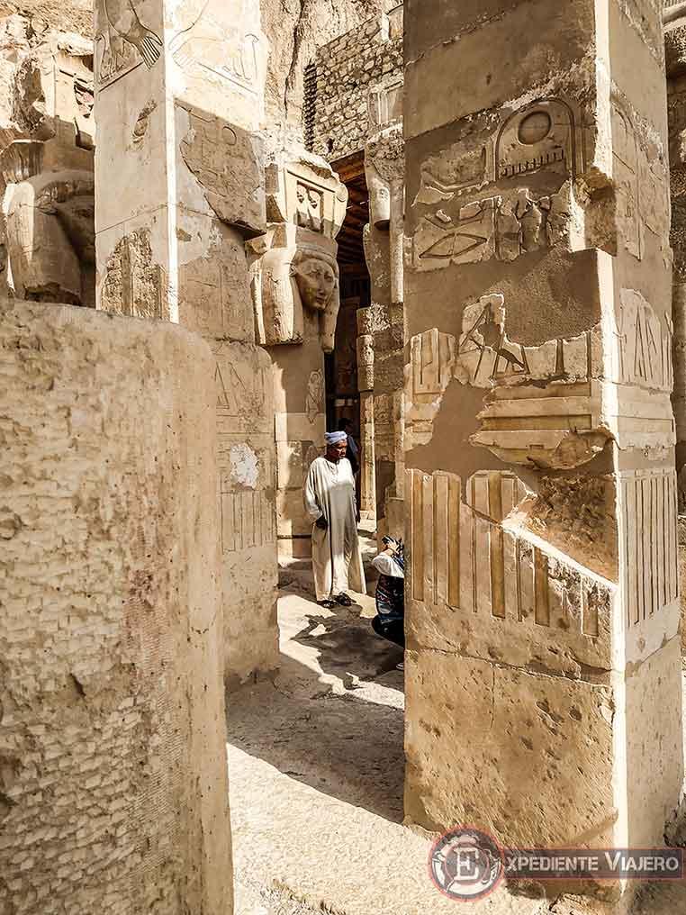 Segundo piso del Templo de Hatshepsut