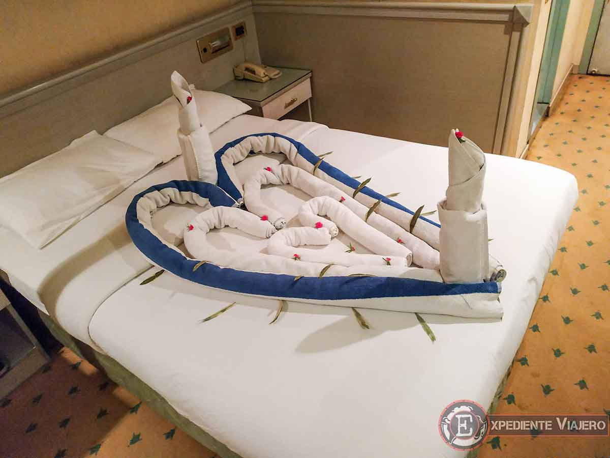 Detalle en el crucero