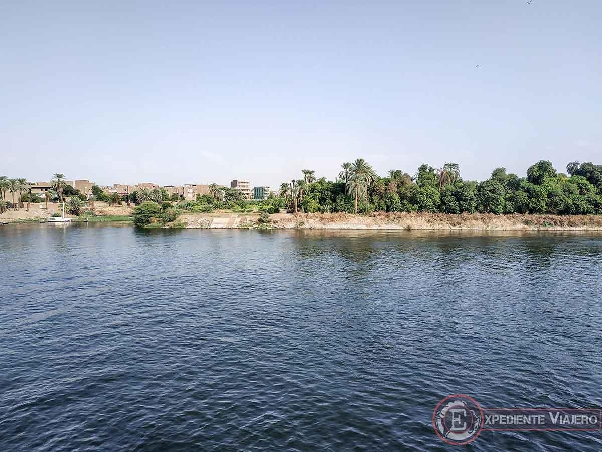 Disfrutar del crucero por el Nilo