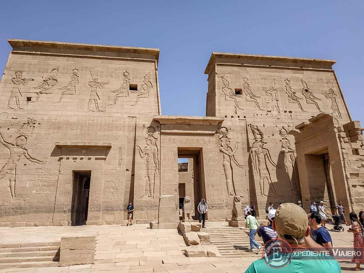 Puerta del Templo de Philae