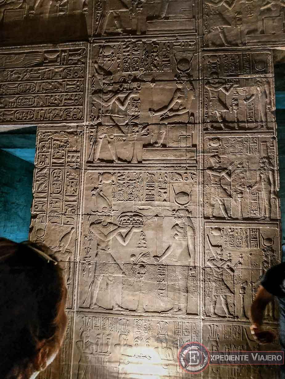 Relieves del Templo de Philae
