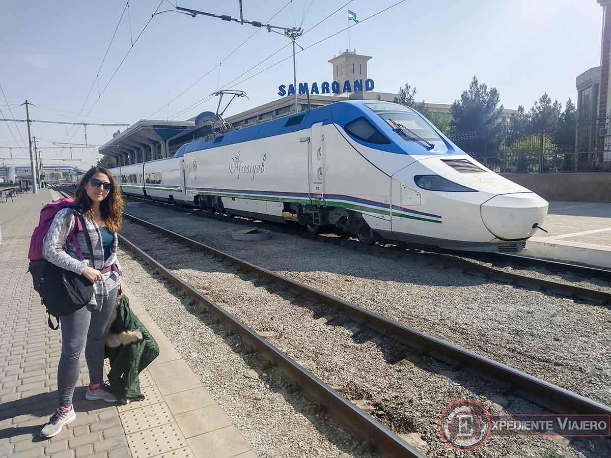 Presupùesto de los trenes en Uzbekistán
