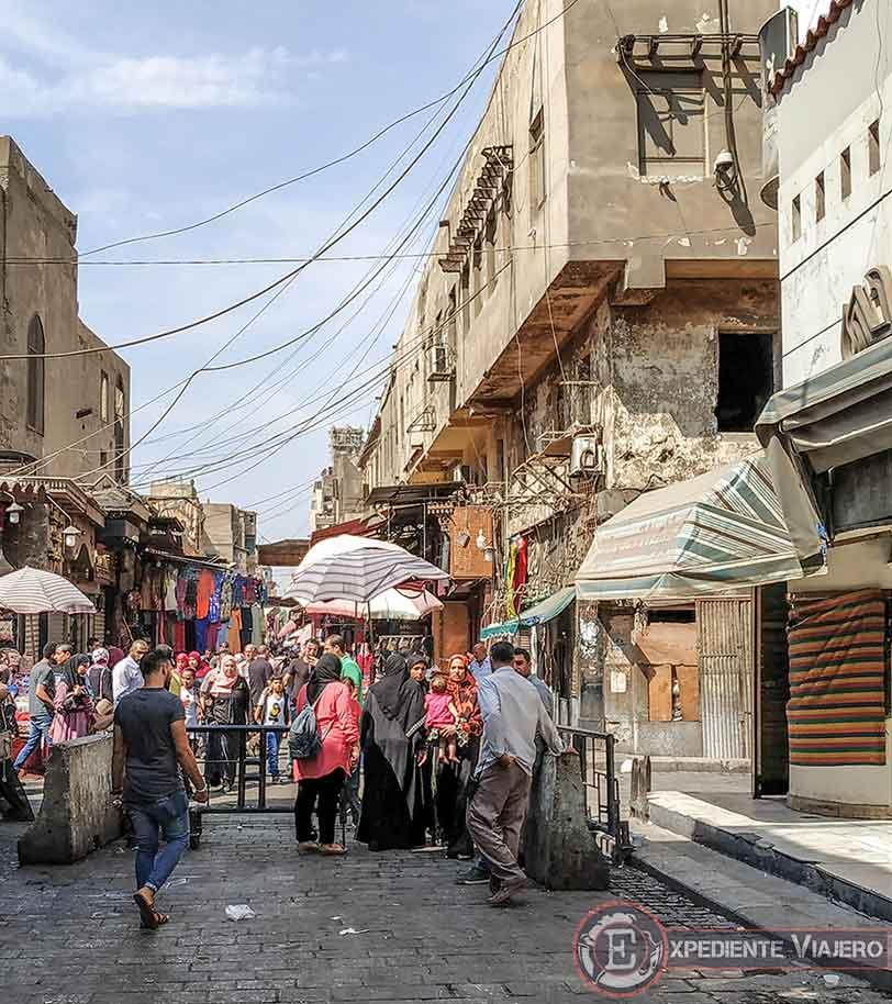 Calles del mercado Jan el-Jalili