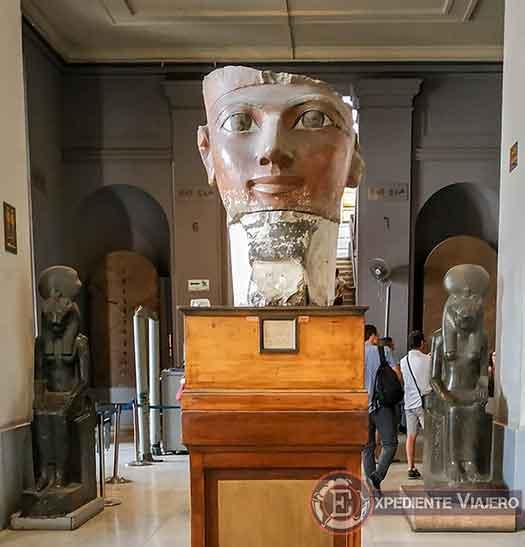 Cara de Hatshepsut