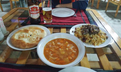 La comida de Uzbekistán