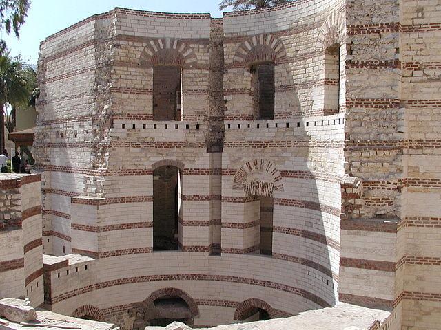 Fortaleza de Babilonia en el Barrio Copto de El Cairo