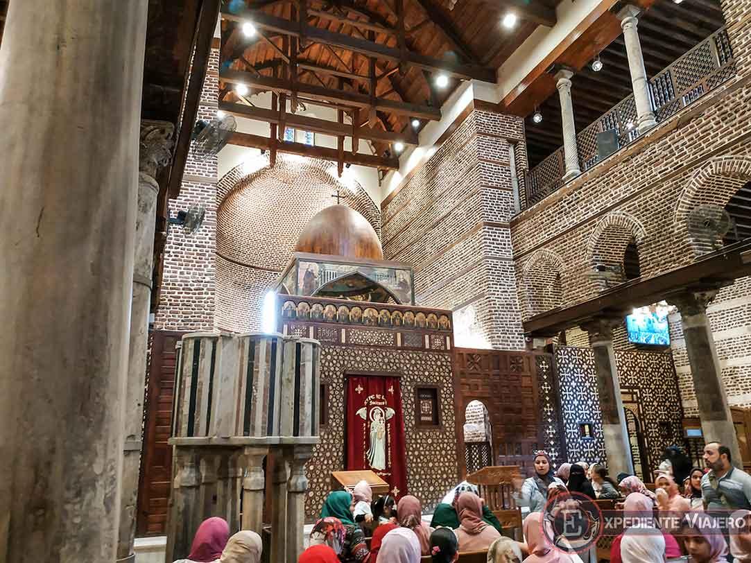Iglesia de San Sergio y Baco, en el Barrio Copto