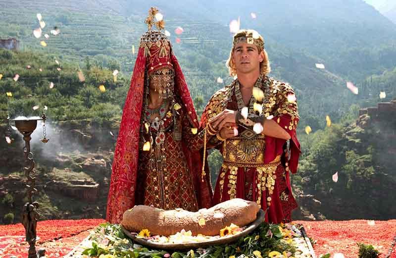 Boda de Alejandro Magno
