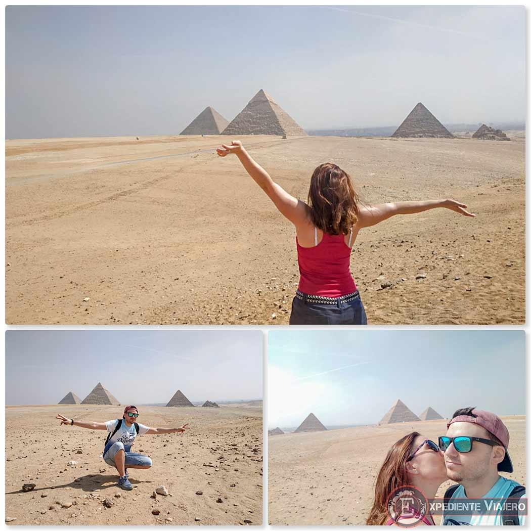 Las 3 pirámides de Guiza