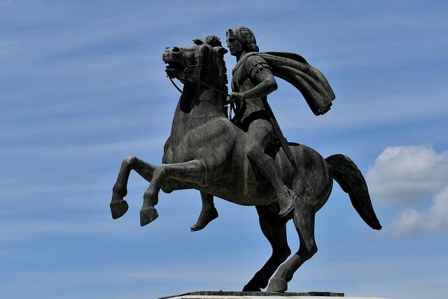 Bucéfalo, el caballo de Alejandro Magno