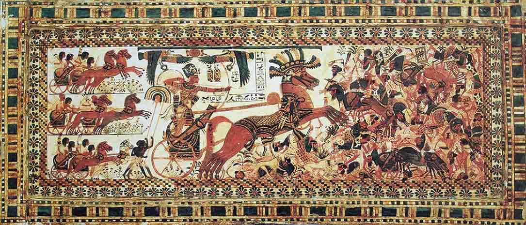 Las guerras de Tutankamón