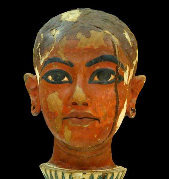 Cara de Tutankamón