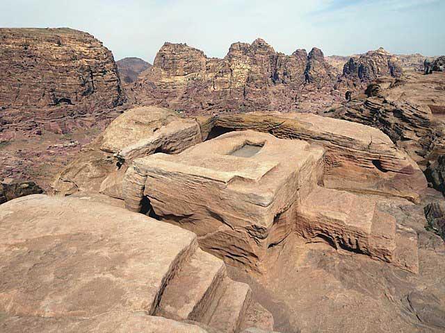 Altar de los Sacrificios en Petra