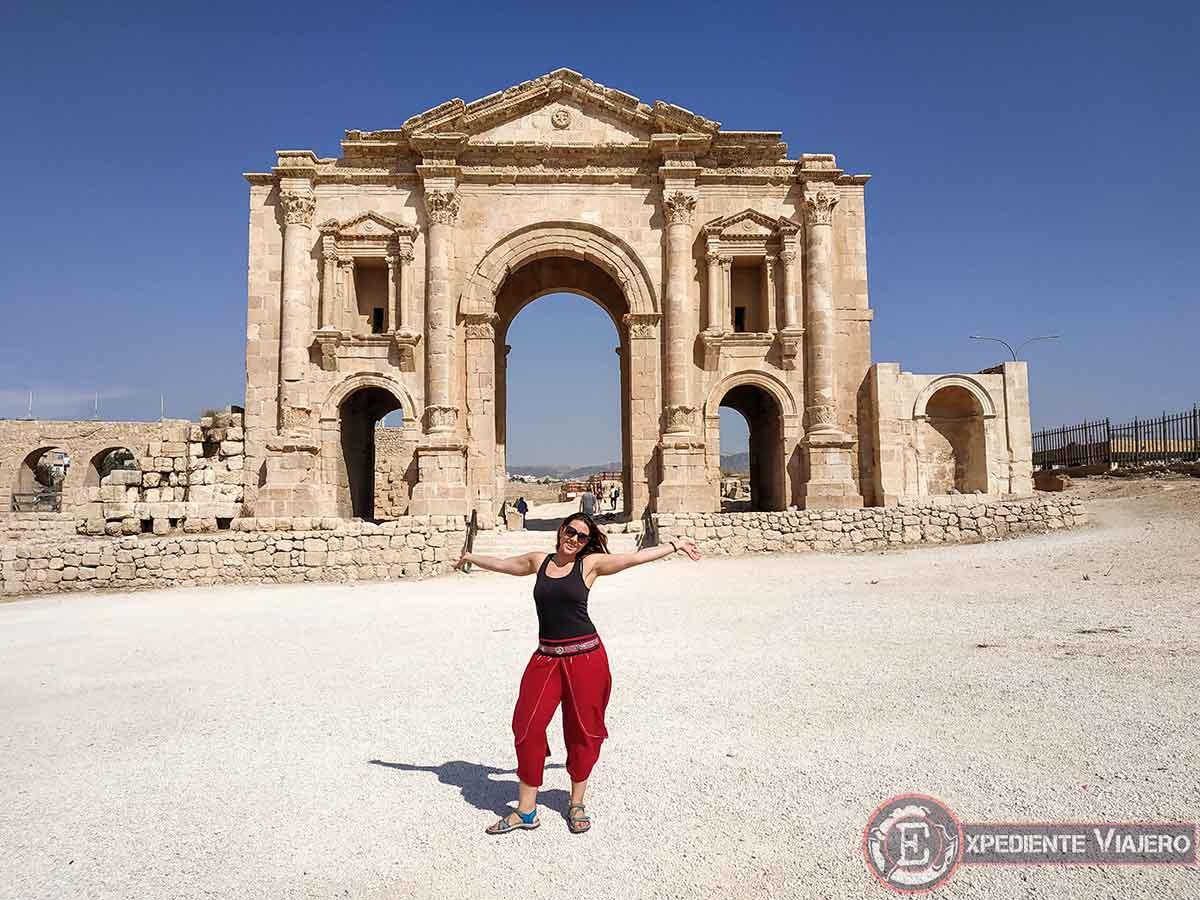El Arco de Adriano de Jerash