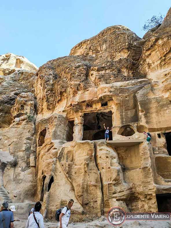 La Casa Pintada de Little Petra