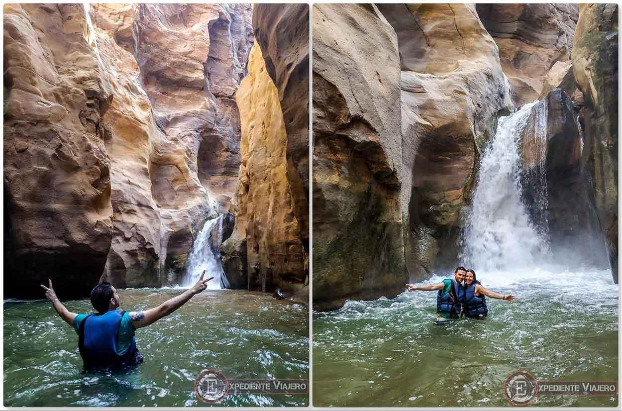 Cascada de Wadi Mujib