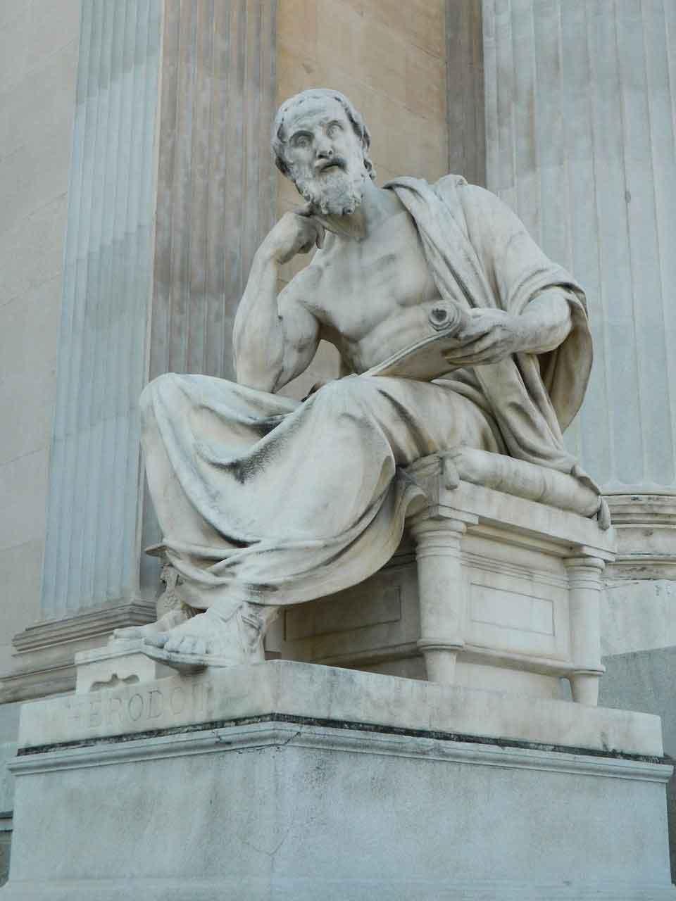 Estatua de Heródoto