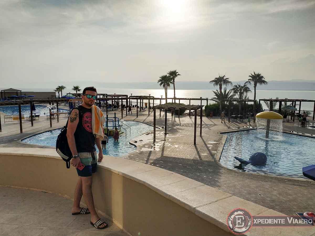 Nuestro Hotel del Mar Muerto en Jordania