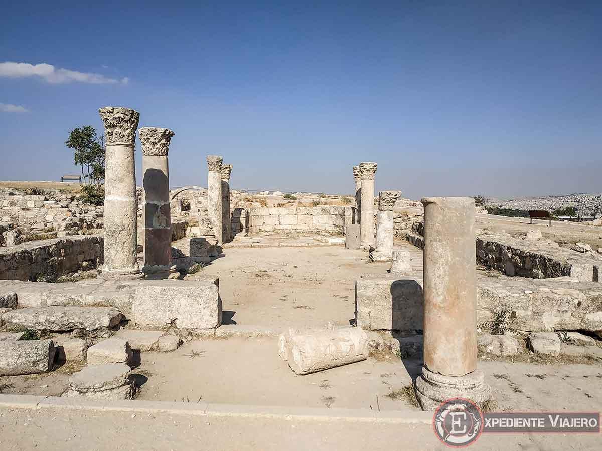 Iglesia bizantina en la Ciudadela de Ammán