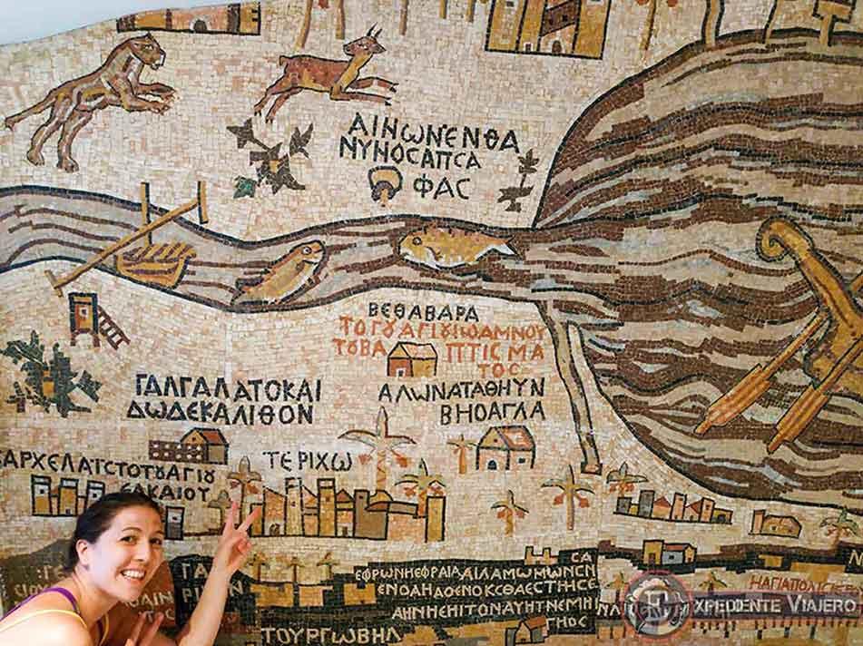 Copia del Mosaico de Madaba