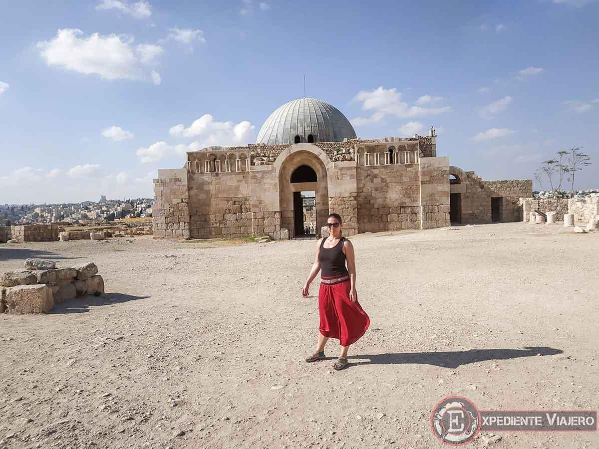 Palacio Omeya en Ammán