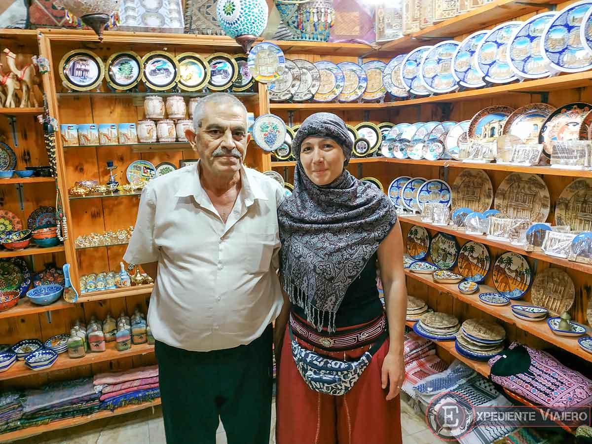 Ponerse el pañuelo jordano