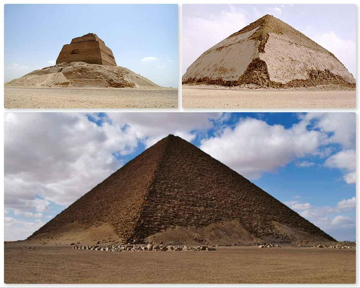 Primeras pirámides antes de Keops