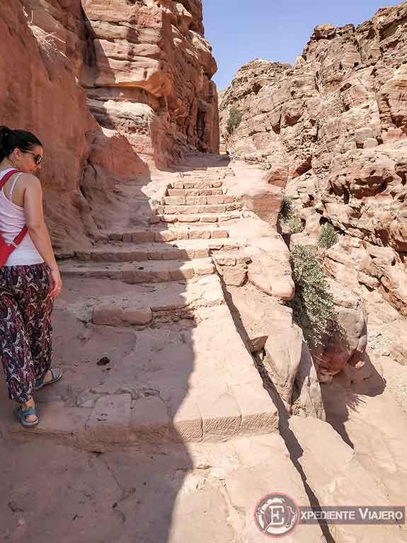 Subida al Monasterio (Ad Deir) en Petra