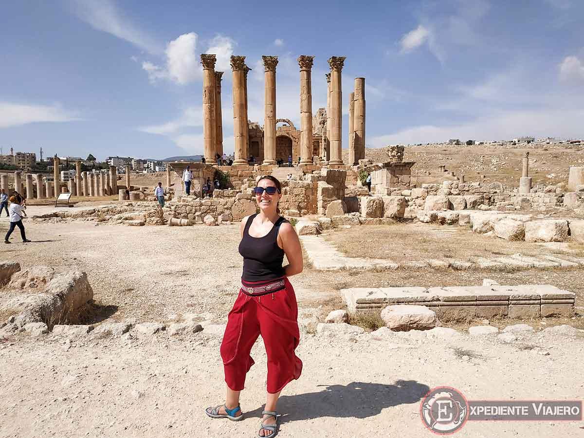 El Templo de Artemisa de Jerash