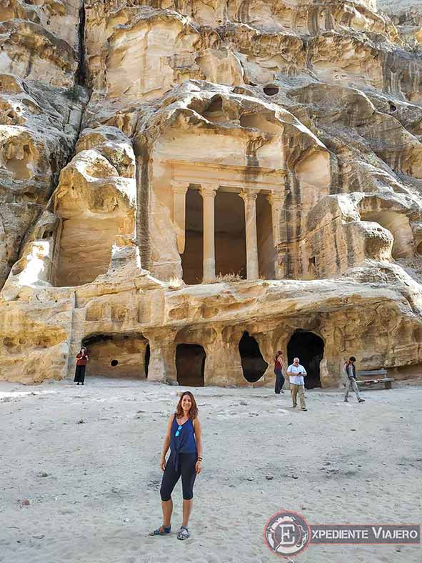 El Templo de Dushara de Little Petra