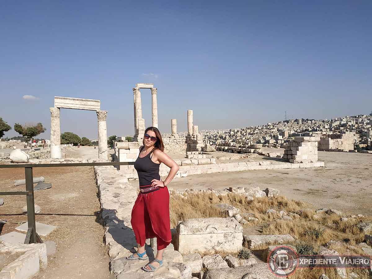 Templo de Hércules en la Ciudadela de Ammán