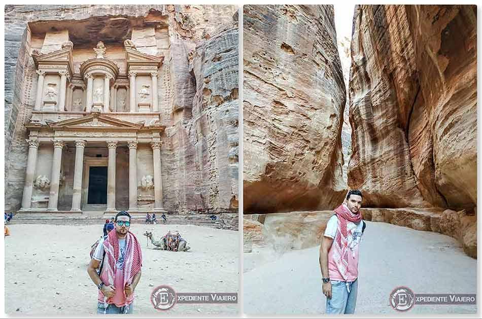 Terminando el día en Petra