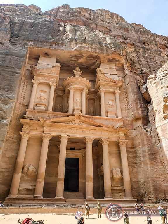 El Tesoro (Al-Khazneh) de Petra