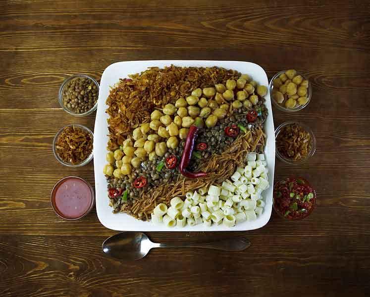 Koshari: Comida típica de Egipto