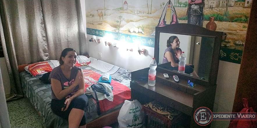 Nuestro alojamiento en Arad