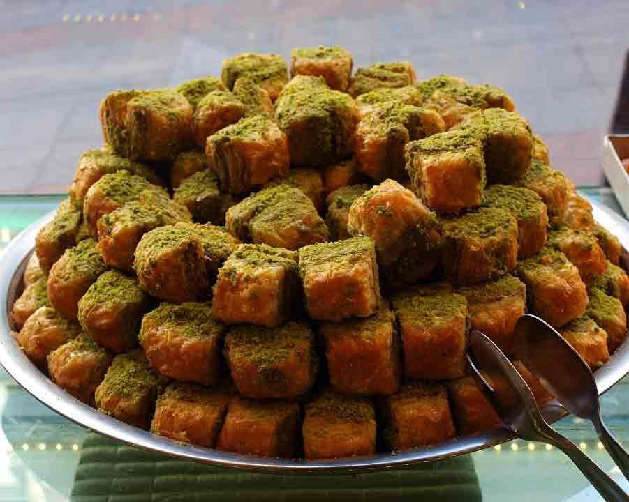 Qué comer en Jordania: Baklava