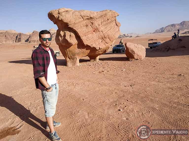 Qué hacer en el desierto de Wadi Rum: Chicken Rock
