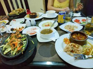 Las comidas típicas
