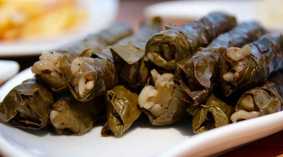 Qué comer en Jordania: Dolmas