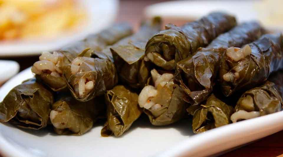 Dolmas: Comidas típicas de Egipto