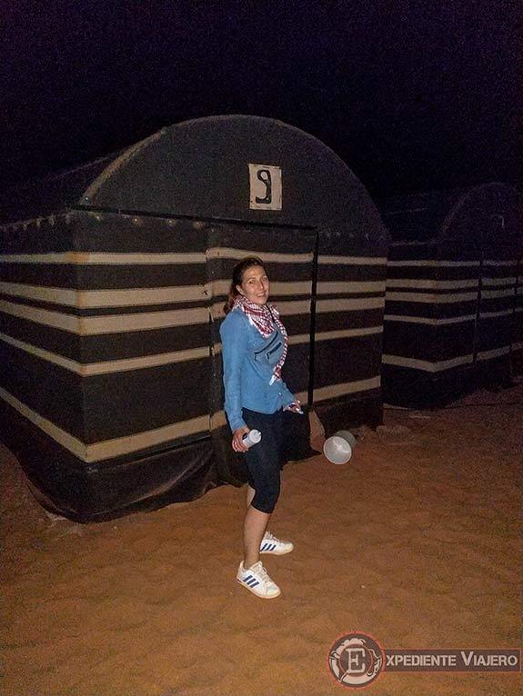 Qué hacer en el desierto de Wadi Rum: Dormir en una haima