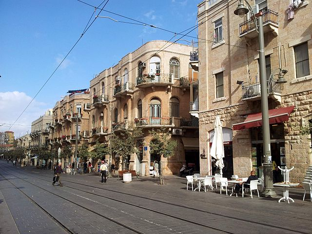 Alojarse en el centro de Jerusalén