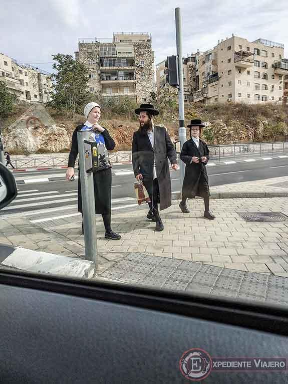 Los judíos ultraortodoxos de Jerusalén