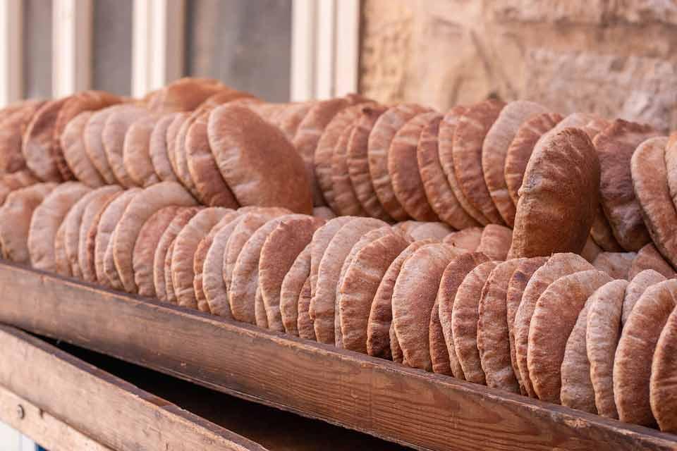 Qué comer en Jordania: Khubez