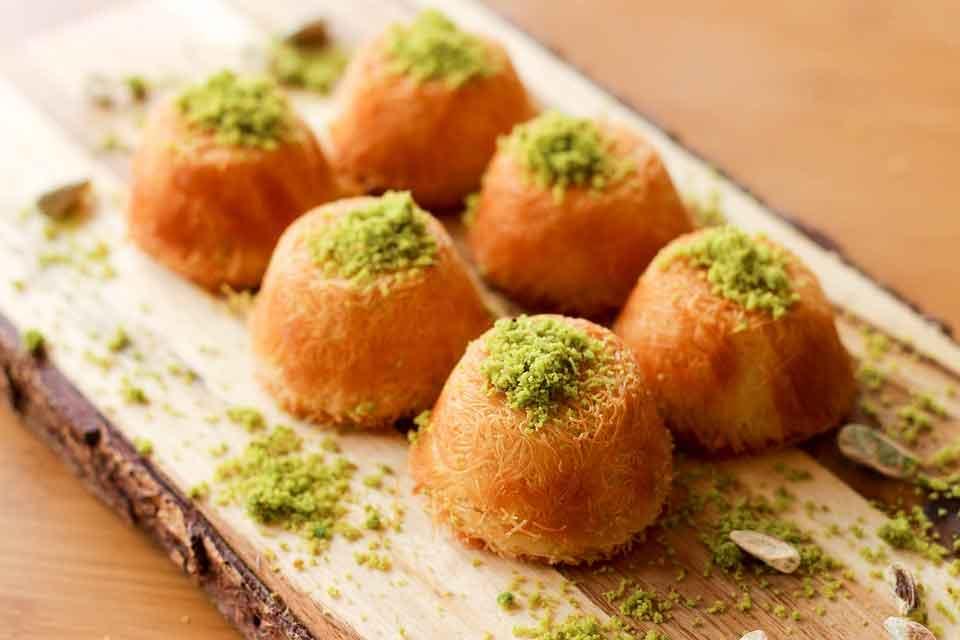 Knafeh: Comidas típicas de Egipto