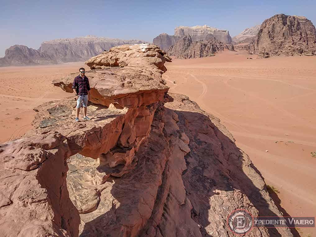 Qué hacer en el desierto de Wadi Rum: Litttle Bridge