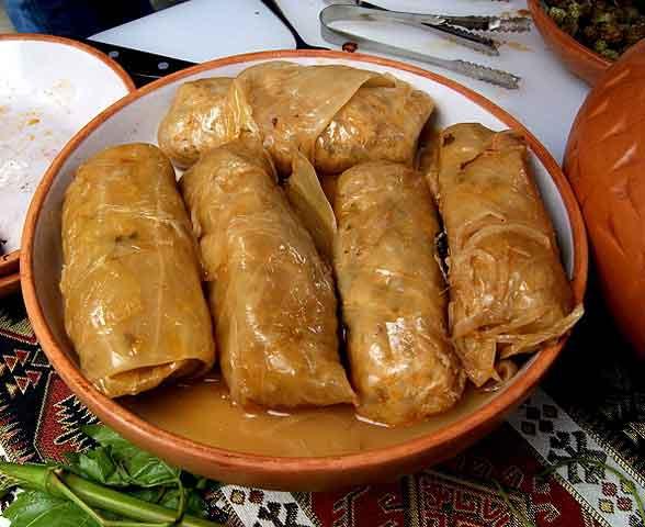 Malfuf mahshi: Comidas típicas de Egipto