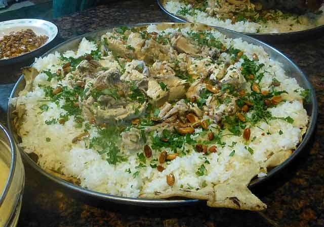 Qué comer en Jordania: Mansaf