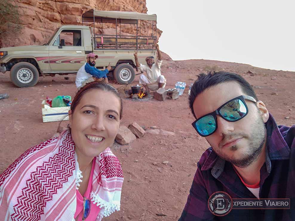 Qué hacer en el desierto de Wadi Rum: Parada para comer
