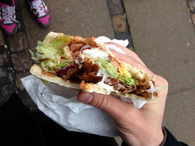 Qué comer en Jordania: Shawarma